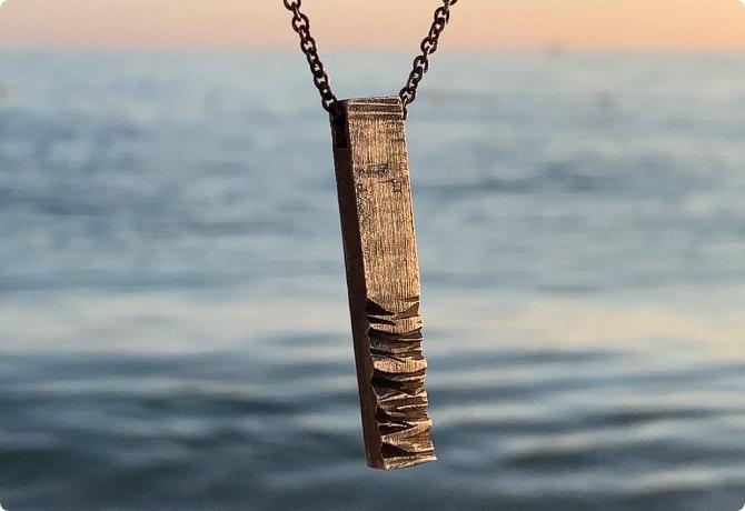 """""""당신의 바다는 어떤 모습인가요?""""- 바다를 담은 악세서리 프로젝트 이미지 입니다."""